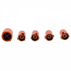 NedRo - Xbox 360 Replacement Controller 5x Set Plating Orange TM131 - Xbox 360 Accessoires - TM131 www.NedRo.nl