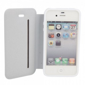 NedRo - Bookstyle case voor iPhone 4/4S - iPhone telefoonhoesjes - WW87012095 www.NedRo.nl