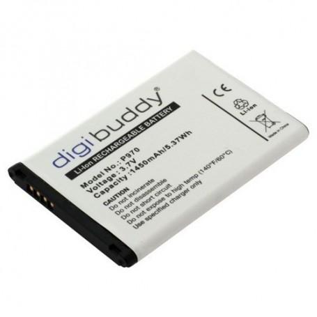 OTB, Batterij voor LG P970 Black Optimus L3-L5 Li-Ion slim ON417, LG telefoonaccu's, ON417, EtronixCenter.com