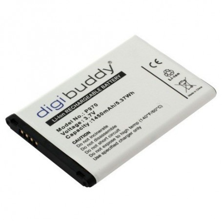 OTB, Battery for LG P970 Black Optimus L3-L5 Li-Ion slim ON417, LG phone batteries, ON417