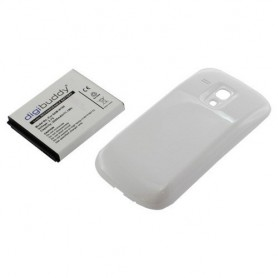 Battery Samsung Galaxy S III mini  + white backcover