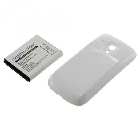 OTB, Battery Samsung Galaxy S III mini + white backcover, Samsung phone batteries, ON421