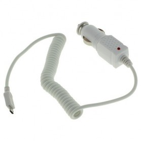 Autolader Micro-USB 1A Wit ON429