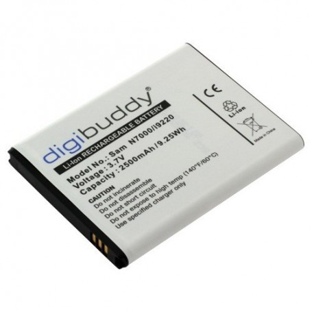 unbranded, Battery for Samsung Galaxy Note N7000, Samsung phone batteries, ON598-CB