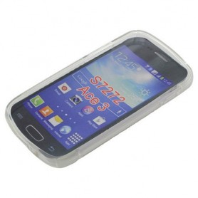 OTB - TPU Case pentru Samsung Galaxy Ace 3 GT-S7272 S-Curve - Samsung huse telefon - ON608 www.NedRo.ro