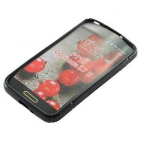 NedRo - TPU Case voor LG Optimus L7 II S-Curve Zwart ON632 - LG phone cases - ON632 www.NedRo.us