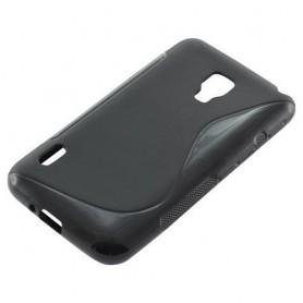 NedRo - TPU Case pentru LG Optimus L7 II S-Curve Negru ON632 - LG huse telefon - ON632 www.NedRo.ro