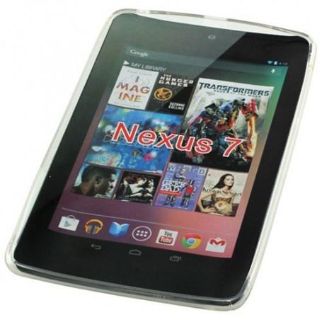 NedRo, TPU Case voor Google Nexus 7 S-Curve transparent ON635, iPad en Tablets beschermhoezen, ON635, EtronixCenter.com