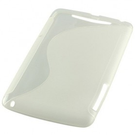 NedRo, TPU Case voor Google Nexus 7 S-Curve transparent ON635, iPad en Tablets beschermhoezen, ON635, EtronixCenter.com