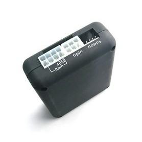 Dolphix - ATX Power Supply PSU Tester - PC and drive enclosure - YPA601-C www.NedRo.us