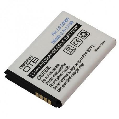 OTB, Batterij Voor LG GD900 Li-Ion ON749, LG telefoonaccu's, ON749, EtronixCenter.com