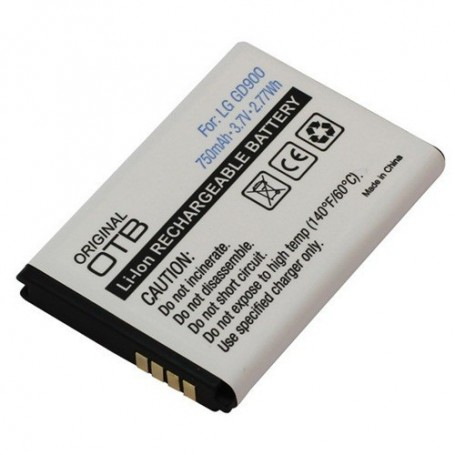OTB, Battery For LG GD900 Li-Ion ON749, LG phone batteries, ON749