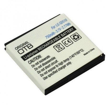 OTB - Battery For LG GD510 Pop Li-Polymer ON769 - LG phone batteries - ON769