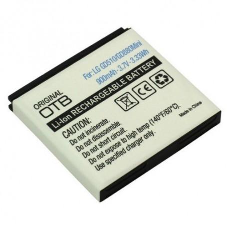 OTB, Batterij Voor LG GD510 Pop Li-Ion ON795, LG telefoonaccu's, ON795, EtronixCenter.com
