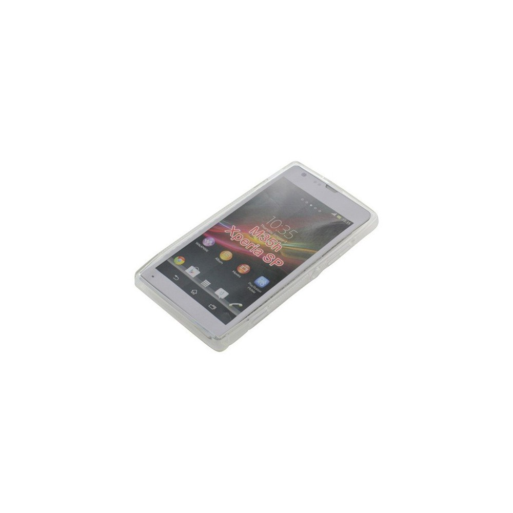 OTB - TPU Case Voor Sony Xperia SP S-Curve transparent ON851 - Sony - Ericsson telefoonhoesjes - ON851 www.NedRo.nl