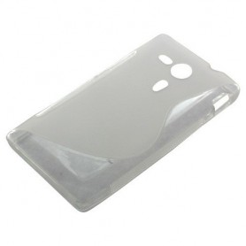 OTB - TPU Case Voor Sony Xperia SP S-Curve transparent ON851 - Sony - Ericsson telefoonhoesjes - ON851 www.NedRo.nl