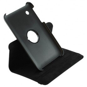 NedRo, Faux leather case for Samsung Galaxy Tab 2 7.0 Black ON868, iPad and Tablets covers, ON868, EtronixCenter.com