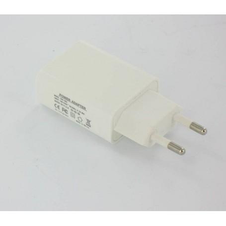 NedRo, USB AC Lader Wit met 2.1 Ampere Output YPU738, Thuislader, YPU738, EtronixCenter.com