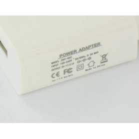 Oem - USB AC Charger White with 2.1 Amp Output YPU738 - Ac charger - YPU738
