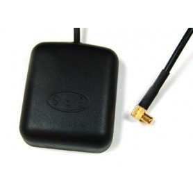 GPS Antenna MCX, magnetic base 90° connector
