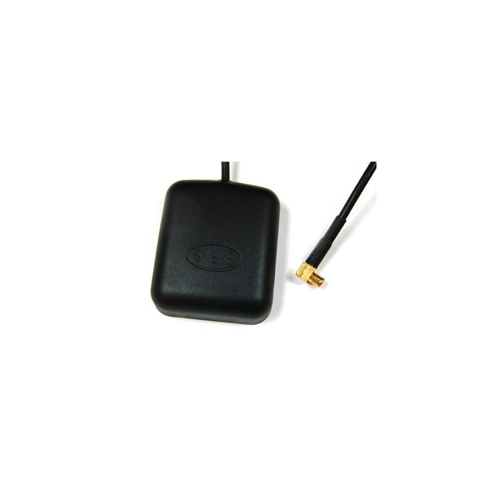 GPS-antenne MCX, magnetische voet 90 ° connector