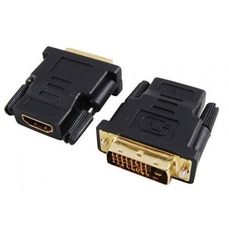 NedRo, HDMI Female naar 24+1 DVI Male Adapter, HDMI adapters, YPC270, EtronixCenter.com