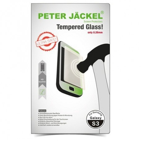 Oem - Peter Jackel HD Tempered Glass for Samsung Galaxy S3 - Samsung Galaxy glass - ON1895