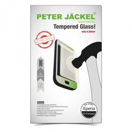 Peter Jäckel - Peter Jackel HD Tempered Glass for Sony Xperia Z3 Compact - Sony tempered glass - ON1944 www.NedRo.us