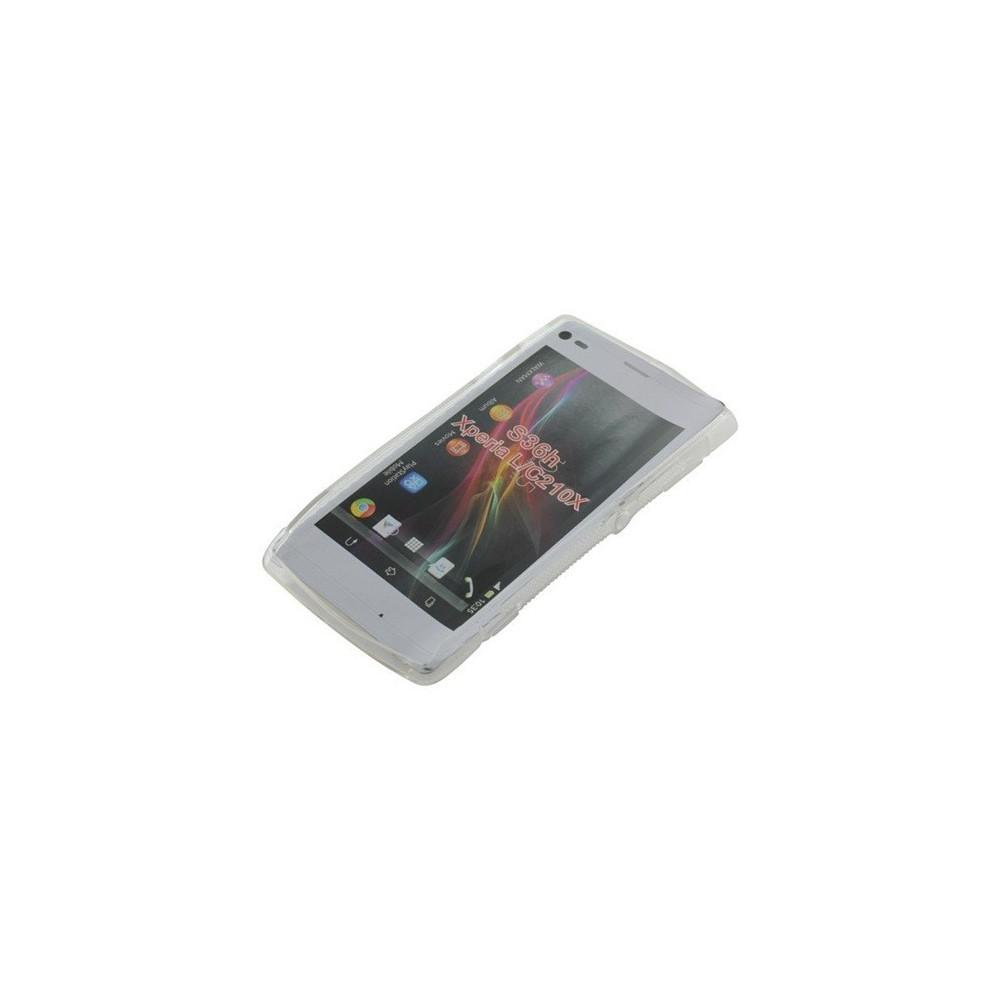 NedRo - TPU Case voor Sony Xperia L S-Curve transparent ON939 - Sony - Ericsson telefoonhoesjes - ON939 www.NedRo.nl