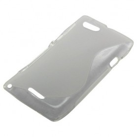 NedRo - TPU Case voor Sony Xperia L S-Curve transparent ON939 - Sony telefoonhoesjes - ON939 www.NedRo.nl