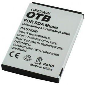 OTB - Batterij Voor SDA music Li-Ion ON958 - Telefoonaccu's diverse merken - ON958 www.NedRo.nl