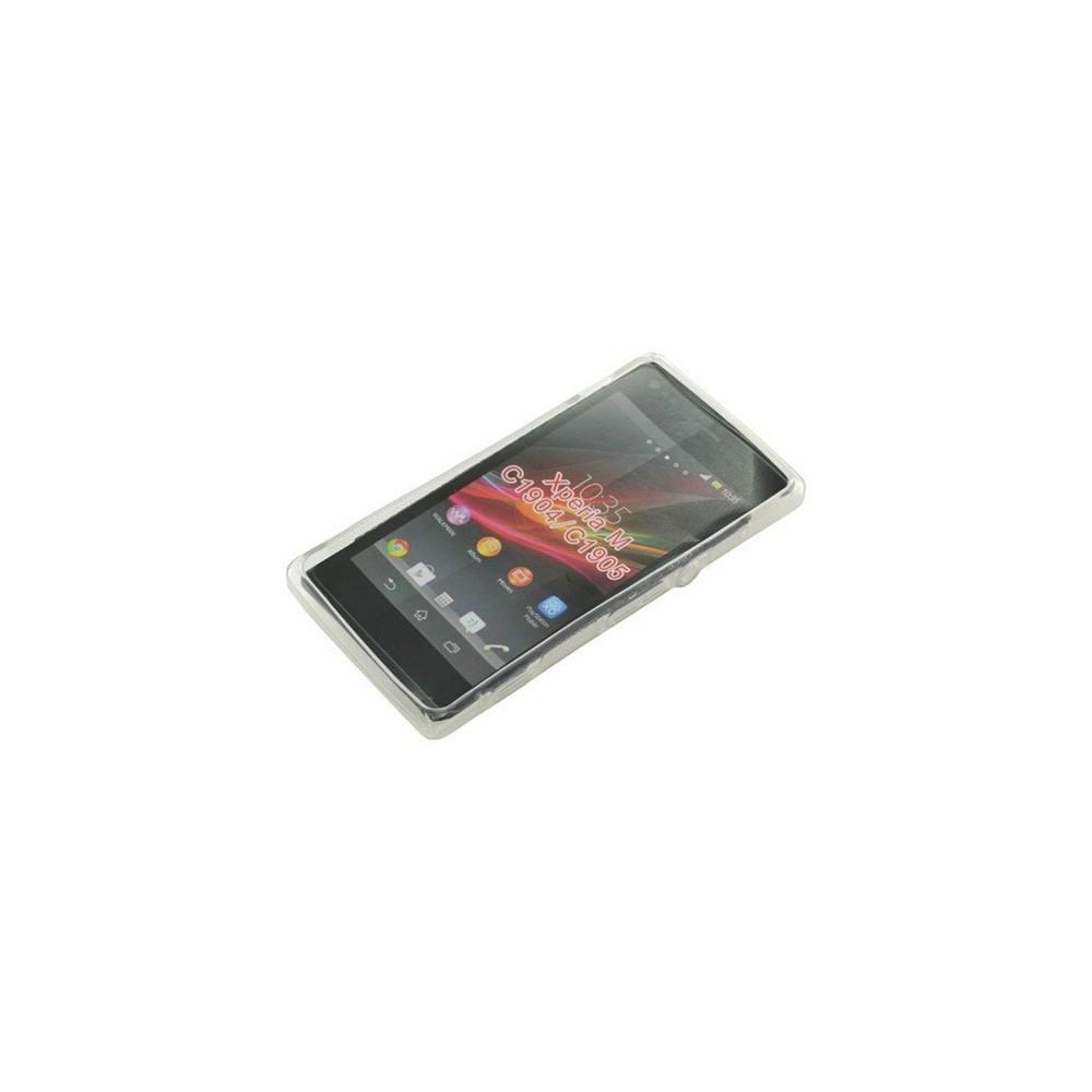 OTB - TPU Case voor Sony Xperia M S-Curve transparent ON978 - Sony - Ericsson telefoonhoesjes - ON978 www.NedRo.nl