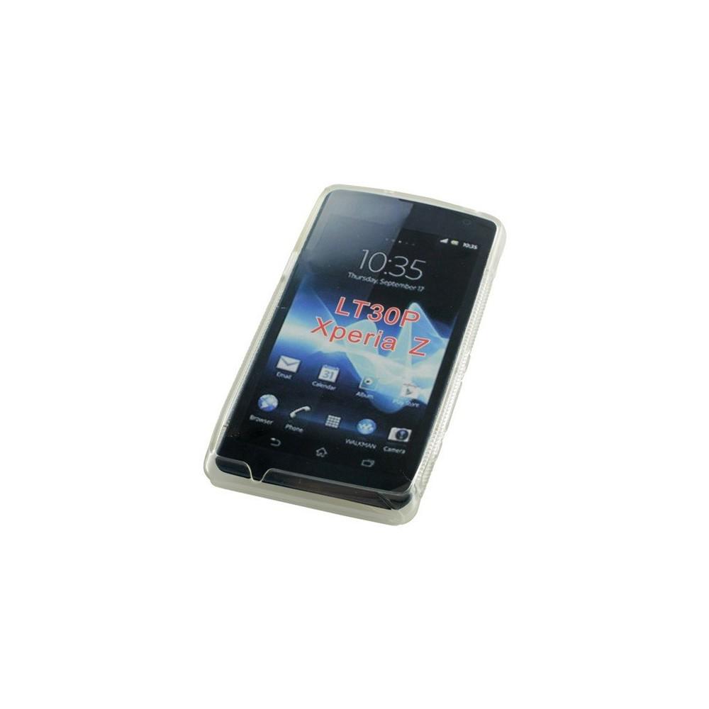 OTB - TPU Case voor Sony Xperia Z S-Curve transparent ON979 - Sony - Ericsson telefoonhoesjes - ON979 www.NedRo.nl