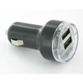 Oem - USB 2A 12V 2Poort CAR charger YPU721 - Auto charger - YPU721