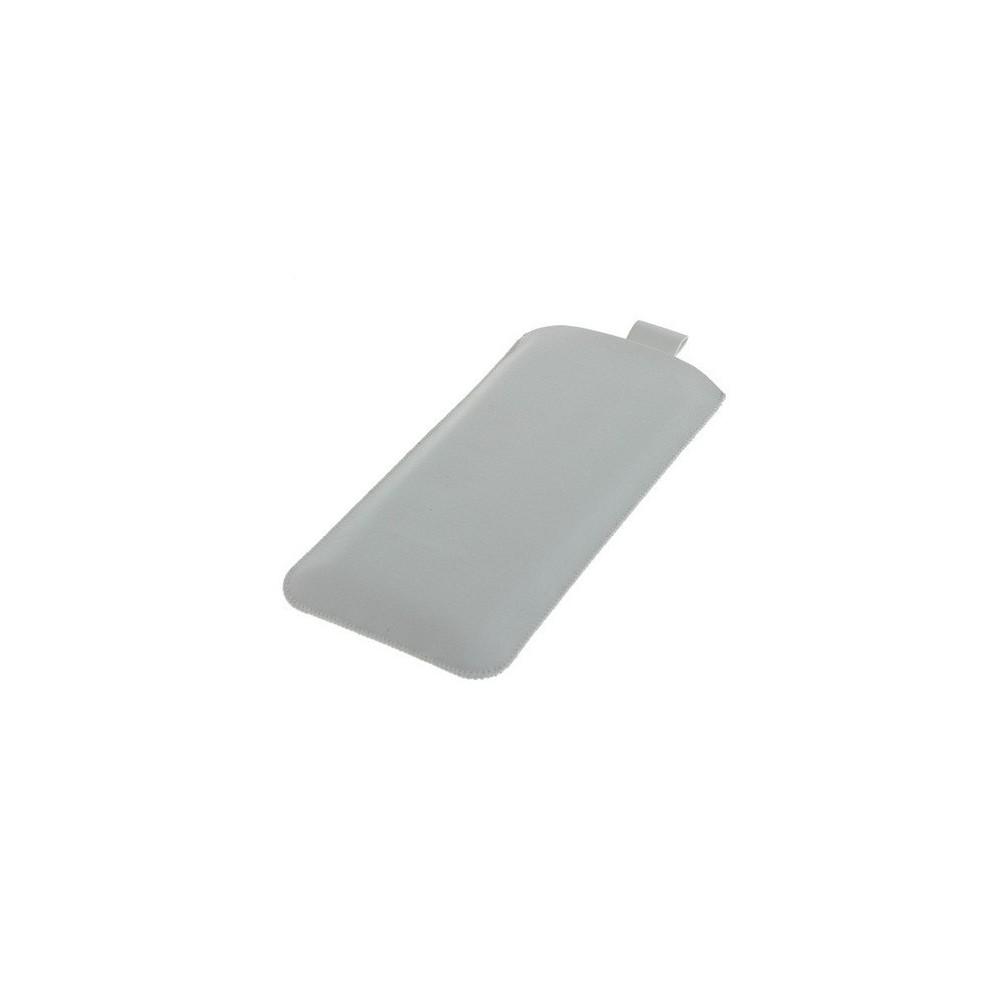Hoes (kunstleer) voor iPhone 6 Wit ON1005