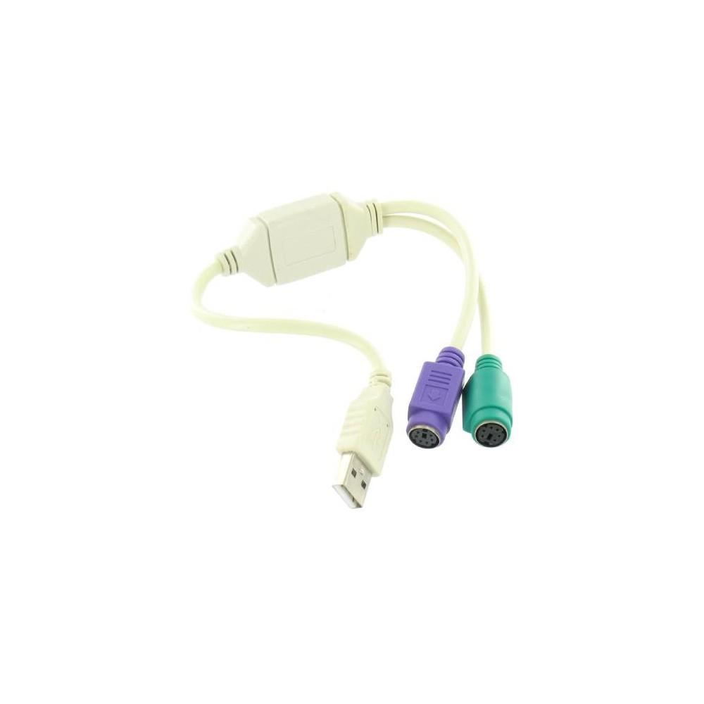 NedRo - Adaptor USB la 2 x PS / 2 YPU002 - Adaptoare USB - YPU002 www.NedRo.ro