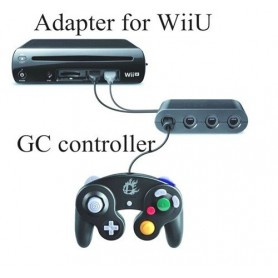 NedRo, GameCube Controller Adapter voor Wii U, Nintendo Wii U, YGN920, EtronixCenter.com