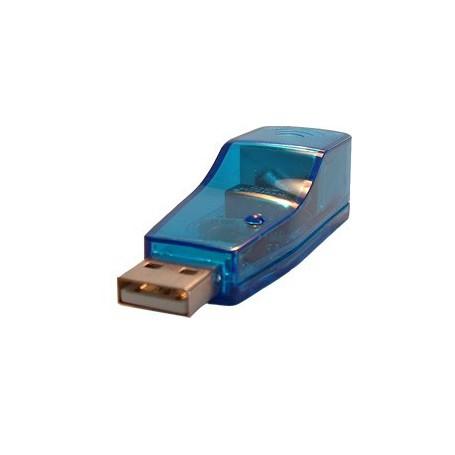 NedRo - USB To Ethernet Adapter UTP 10/100Mbps YPU104 - Netwerk adapters - YPU104 www.NedRo.nl