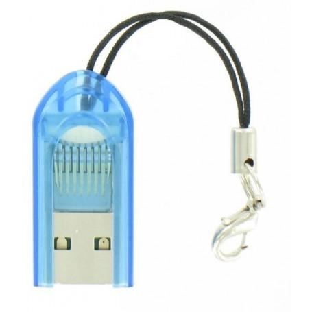 Dolphix - Micro SD MMC SDHC TF T-flash USB-geheugenkaartlezer / -schrijver - SD en USB Memory - YPU206-BU-5x www.NedRo.nl