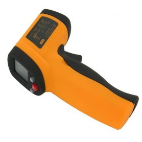 NedRo - Infrarood Thermometer met Laser Pyrometer -50 to 380 graden - Testapparatuur - AL168 www.NedRo.nl
