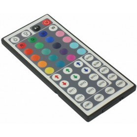 NedRo - RGB LED IR Remote Controller 48 buttons + cabinet - LED Accessories - 06005-C www.NedRo.us