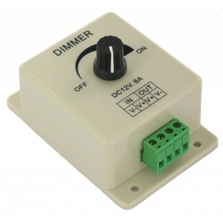 unbranded, Single color LED Dimmer switch for 12V and 24V LED Strip, LED Accessories, LCR08