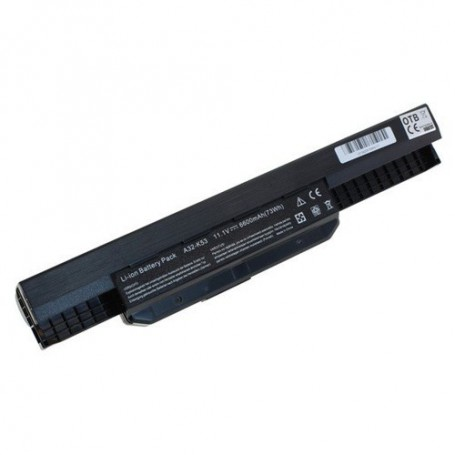 OTB, Battery for Asus A53 / K53 / X53 Serie 6600mAh 11.1V Li-Ion, Asus laptop batteries, ON1042-CB