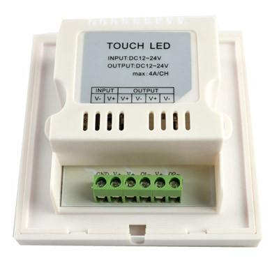 Single color LED 12V-24V Wall Touch Controller